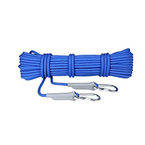 TANGIST Climbing Rope Wear-Resistant for Camping Rock Climbing Outdoor Activities in A Variety of Color Sizes Ropes (Color : D, Size : 9.5mm 30m)