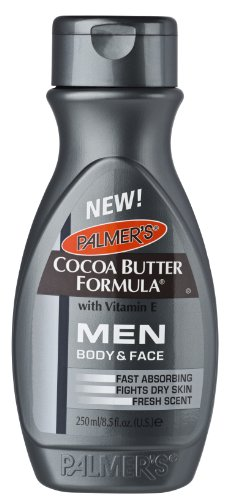 Palmers Cocoa Butter Men Lotion Body & Face 8.5 Ounce (251ml)