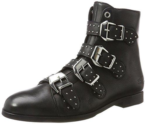 MELVIN & HAMILTON MH HAND MADE SHOES OF CLASS Damen Susan 44/R Chelsea Boots, Schwarz (Nappa Black, hRS Black), 39 EU