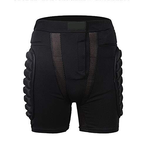Edhua Schutz Rüstung Hosen, Hüftpolster Protector Heavy Duty Body Protective Shorts Motorrad Fahrrad Ski Rüstung Hosen für Männer und Frauen
