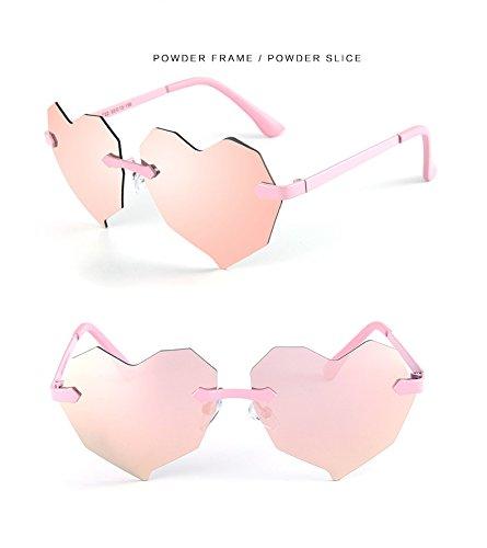 Zon Kind Zonnebril Liefde Hart Gepolariseerde Zonnebril Jongens Meisjes Kids Baby Goggles Spiegel UV400 bril