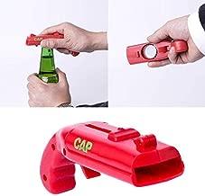 Beer Bottle Opener, Creative Gun Opener Beer Plastic Bottle Opener Cap Gun Launcher - a Gift for Party Drinking Funny Game- Shoots Over 5 Meters