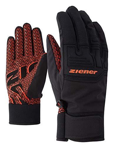 Ziener Erwachsene GARIM AS(R) Glove Alpine Ski-Handschuhe, orange spice, 10.5 (XL)