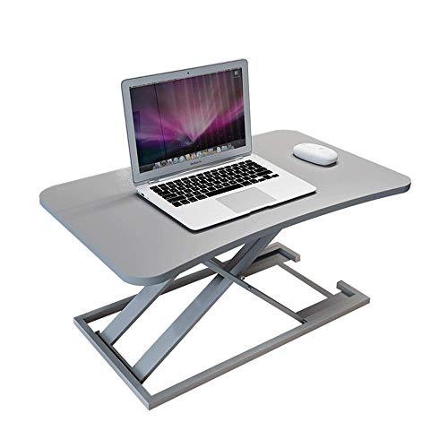 TYZXR justierbarer Stand-up Computertisch, Faltbarer Laptopschreibtischarbeitstisch Computerstandplatz kann gedreht Werden (Farbe: D, Größe: 47 * 73 * 6-40cm)