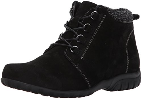 PropÃt womens Delaney Ankle Boot, Black Suede, 11 Wide US