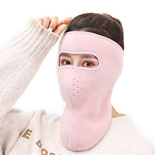 Einsgut Wintermuts motorfiets snowboard winddicht bescherming skimasker meisjes bivakmuts gezichtskap roze