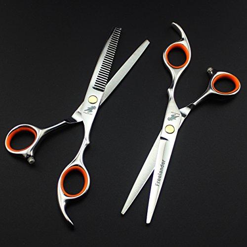 CXYY Set di Forbici da Parrucchiere Professionale da 6.0 Pollici a Prezzi accessibili, Forbice Diritta a Taglio Sottile Perfetta per Barbiere Domestico e primario