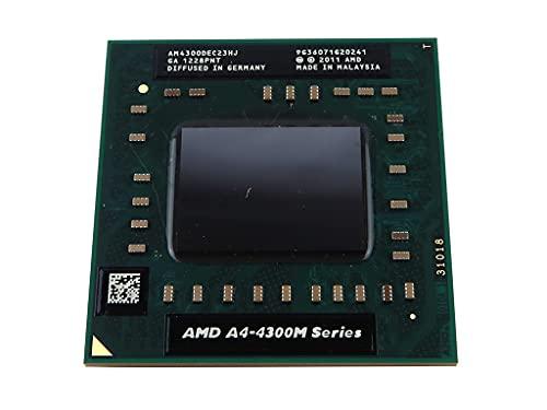 AMD A4-4300M AM4300DEC23HJ Mobile APU CPU Socket FS1r2 722pin 2.5Ghz 1MB