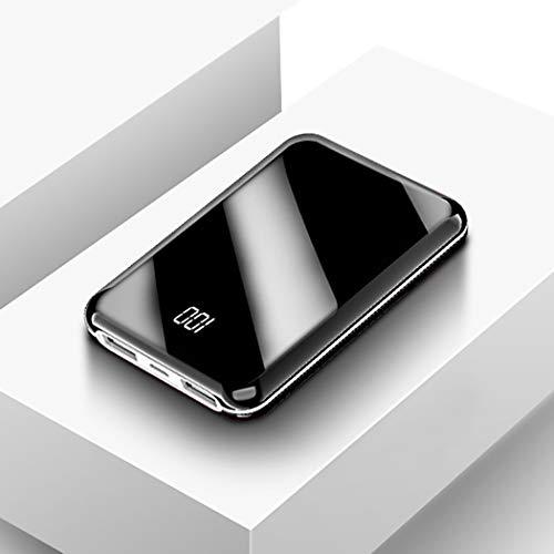 RAPLANC Cargador portátil, una de Las baterías externas más pequeñas y livianas de 10000Mah, ultracompacto, tecnología Power Bank para iPhone, Samsung Galaxy y más,Blanco