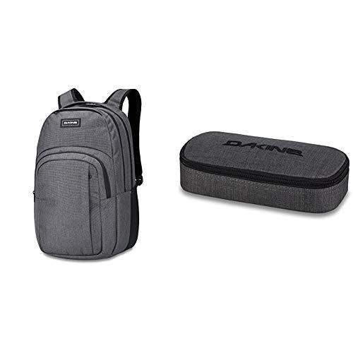 Dakine Campus Rucksack, Daypack Tagesrucksack für Schule, Arbeit und Uni, Sportrucksack und Schultasche mit Laptopfach und Rückenpolster, 33L & Federmäppchen School Case, Unisex Erwachsene
