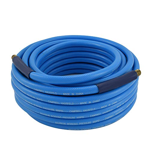 Campbell Hausfeld 50 Foot Air Hose, 3/8' PVC with Bend Restrictors (PA121600AV)