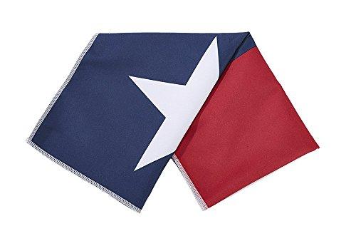 Mission Enduracool Microfiber Cooling Towel, Texas State Flag, Large