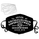 Ouija - angels & demons 3D Comfortable Facial Decorations Anti-Dust Windproof With Adjustable Elastic Strap