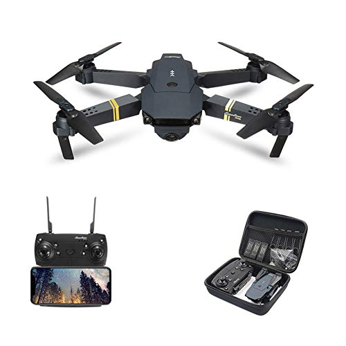 E58 Drone with Camera for Adults, Drone for Children, Drone for Beginners with Altitude Hold, WiFi FPV Quadcopter with 1080P Wide Angle Camera Live Video Mobile APP Control