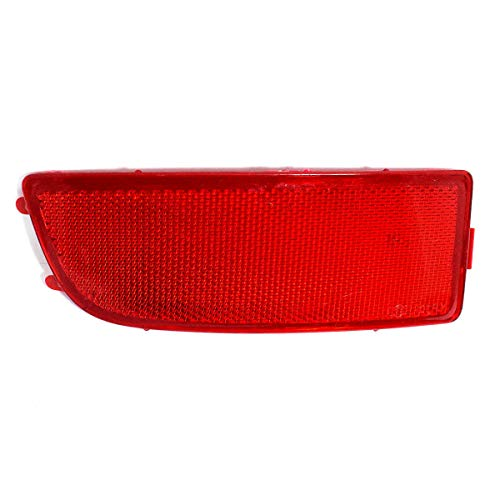 ME68317S Reflektor Stoßstange hinten links Rot Rucklicht