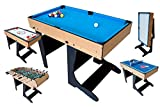 Riley Multi-Game Table Folding Legs