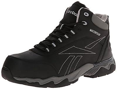 Reebok Work Men's Beamer RB1068 Work Shoe, Black, 11.5 M US