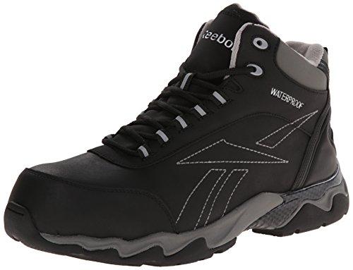 Reebok Work Men's Beamer RB1068 Work Shoe, Black, 10.5 W US