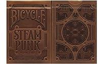 BICYCLE(バイスクル) STEAMPUNK(スチームパンク) Theory11 Edition トランプ ゴールド