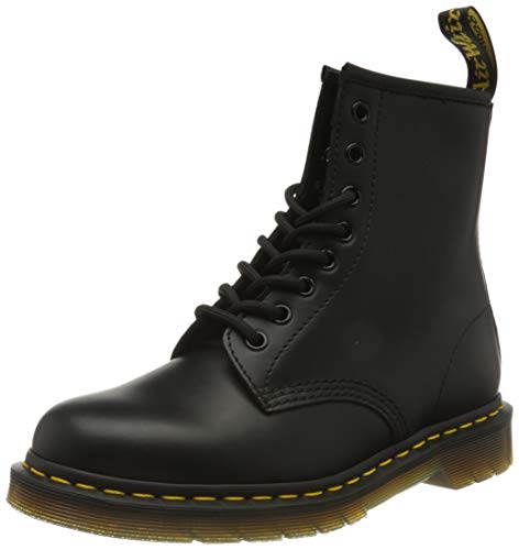 Dr. Martens Adult 1460z Classic Airwair 8 Eyelet Boots UK 8 Cherry Red Smooth