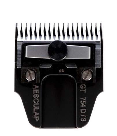 Kerbl GT754D Aesculap Favorita Scherköpfe mit DLC Beschichtung, 3mm Schnittlänge, 40mm Scherbreite