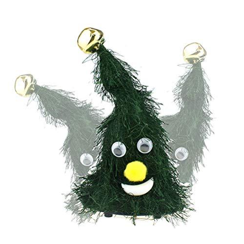 Angmile Novedad /Árbol de Navidad//Sombrero Cantando Bailando Mu/ñecas retorcidas Interesante Divertido M/úsica el/éctrica Juguetes de Navidad Decoraci/ón Adornos