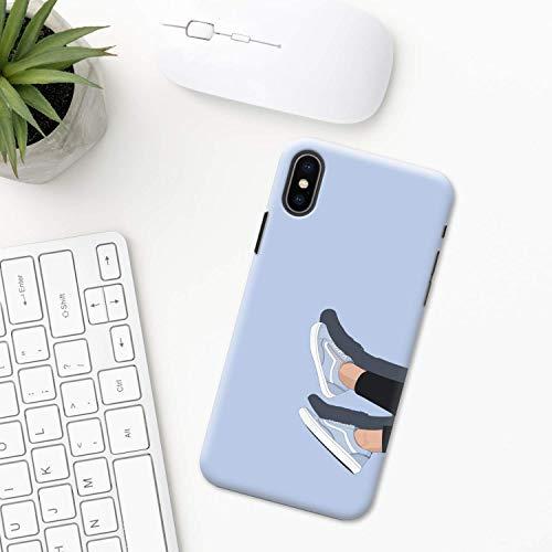 Espadrille Étui iPhone XR 11 X XS MAX Pro 8 7 Plus 6 6s 5 5s SE 2020 10 plastique Coque silicone Apple iPhone Cas de téléphone chaussures style tendance