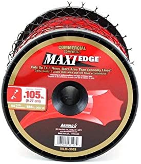 Arnold Maxi-Edge .105-Inch x 665-Foot Commercial Grade String Trimmer Line
