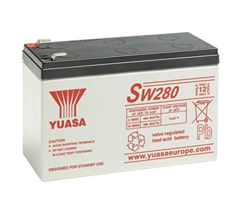 YUASA - accu UPS YUASA SW280 12V 7.6Ah F6.35