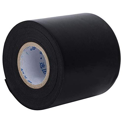 Cafopgrill goedkoop plakband, PVC hoogwaardig isolatietape voor kabelkanalen voor airconditioning, 60 mm x 11 m, zwart
