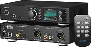 Combinazione di conversione DA high-end con due uscite IEM per cuffie eccezionali e un telecomando Stadio di uscita analogica adattato per livelli di rumore e distorsione ancora migliori Intervallo di blocco: 28 kHz – 200 kHz Soppressione jiter: > 50...