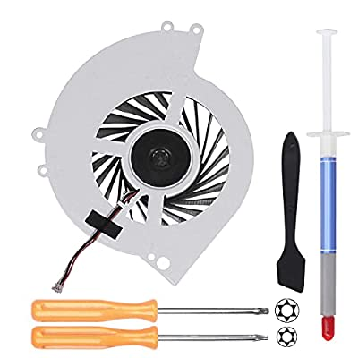 YEECHUN Replacement Internal CPU Cooling Fan for Sony PlayStation 4 PS4 CUH-1001A 500GB KSB0912HE Series + Tool Kit by