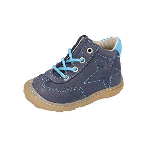 RICOSTA Unisex - Kinder Lauflern Schuhe SAMI von Pepino, Weite: Mittel (WMS),terracare, Kinder-Schuhe Spielen Freizeit,See,20 EU / 4 Child UK