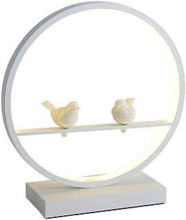 WYBFZTT-188 Moderne Tischlampe Weiß for Wohnzimmer Schlafzimmer, Nacht Arbeitszimmer Tischlampe Einfach und kreativ