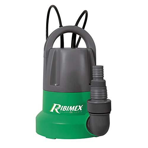 Ribimex PRPVC401SP Pompe submersible drainante 400 W, Vert/Gris, 27 x 16 x 24 cm