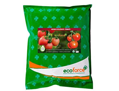 CULTIVERS Abono - Fertilizante Ecológico de 5 Kg Especial para el Tomate. Origen 100% Orgánico y Natural Microgranulado. Mejora la Productividad de los Cultivos