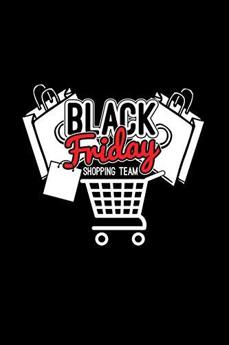 Black Friday Shopping team: 6x9 BLACK FRIDAY | dotgrid | dot grid paper | notebook | notes