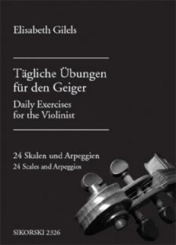 Taegliche Uebungen Fuer Geiger. Violine