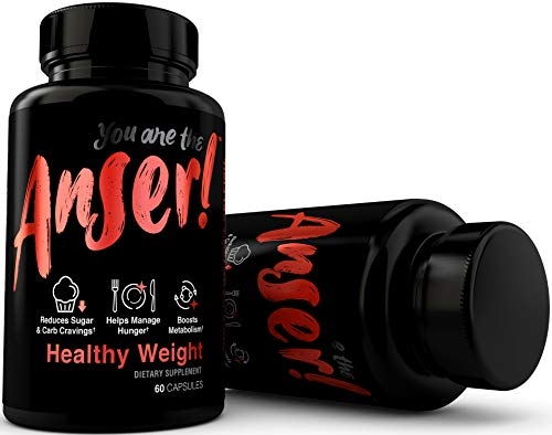 Anser Healthy Weight - Weight Loss Supplement Pills for Women & Men - Appetite Suppressant & Metabolism Booster - Supports Reduction in Sugar & Carb Cravings - 30 Servings by Tia Mowry 3