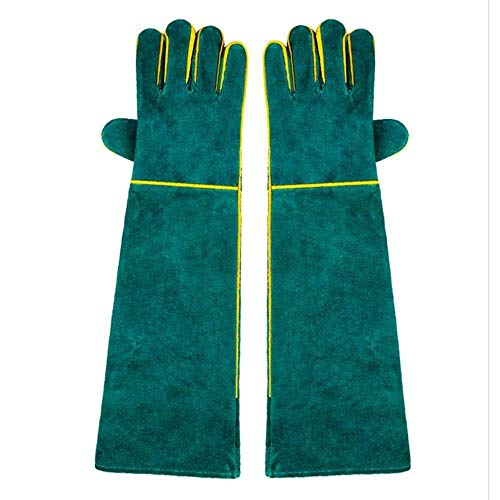 WH Animal Handschoenen Bijtbestendig, Duurzame Bijtbestendige Handschoenen voor Zwemmen, Verzorging, Handling Dog/Cat/Vogel/Slang/Papegaai/Hap/Reptiel - Scratch/Bite Resistant Protection Handschoenen