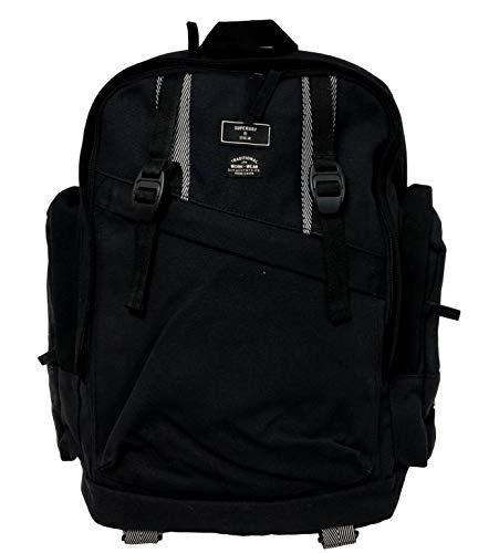 Superdry Mens THUNDER BACKPACK Rucksack, Black, One Size