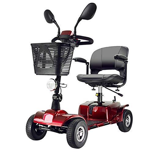 Scooter de movilidad portátil con 4 ruedas Vehículo eléctrico para...