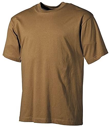 MFH T-Shirt de Camouflage pour Homme de l'armée américaine (Coyote/XL)