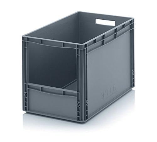 Sichtlagerkasten im Euroformat SLK 64/42-600 x 400 x 420 mm