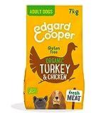 Edgard & Cooper pienso para Perros Adultos sin Gluten, Natural con Pavo y...