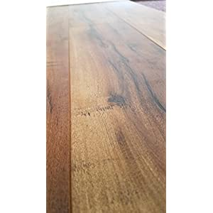 Turtle Bay Floors Sawmilled Acacia Floating Laminate Flooring 12mm Unilin AC4 Syncronized Embossed - Choose From 2 Colors (SAMPLE, DRIFTWOOD)