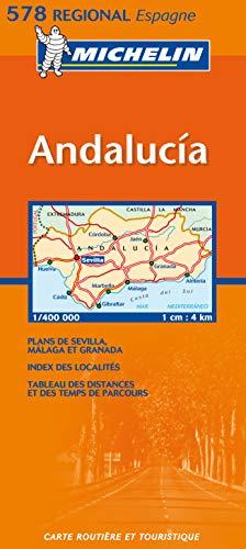 Carte routière : Andalucia, N° 11578 (en espagnol) (Maps/Regional (Michelin))
