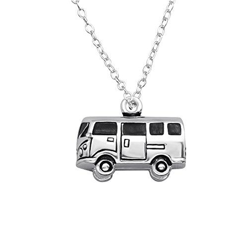 Tata Gisele© Halskette Kette aus Silber 925/000rhodiniert–Van/Camper/Camping denn/Hippie