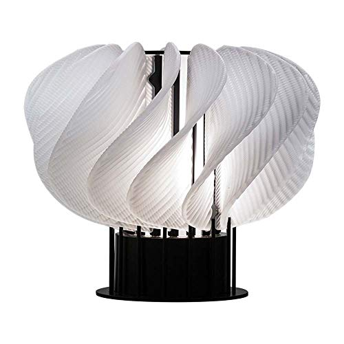DKee Lámparas de mesa 29 * 24cm Aristocracia Americana Salón Lámpara De Mesa Deco Moderno Blanco Minimalista Dormitorio De Noche De Diseño Modelo De Lámpara De Mesa Den