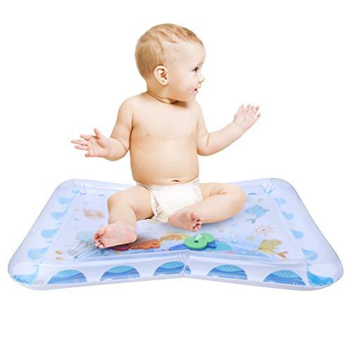 Nannday Colchoneta Colorida para bebé, Alfombra de Juego de Agua, Alfombra de Juego de Agua Divertida, para bebés de 2 a 6 años